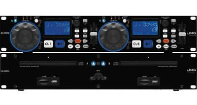 Professional Dual DJ CD/MP3 Player - IMG STAGE LINE