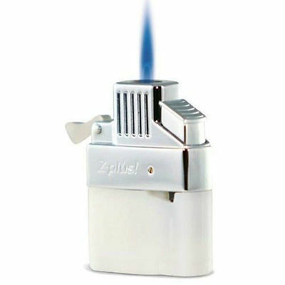 Z Plus! Jet Lighter Butane Insert, Single Flame, Refillable (ZINS)