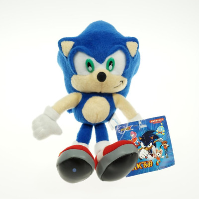 """Sega Sonic The Hedgehog Stuffed Plush Character Toy 10"""" Authentic! FREE SHIPPING"""