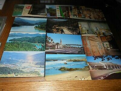 Mixed Lot of 50 Vintage Postcards CHROME 60's- 80's UNPOSTED P1154