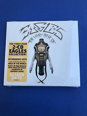 The Eagles - Very Best of NEW SEALED 2 CD SET PLUS BONUS AND FREE SHIPPING