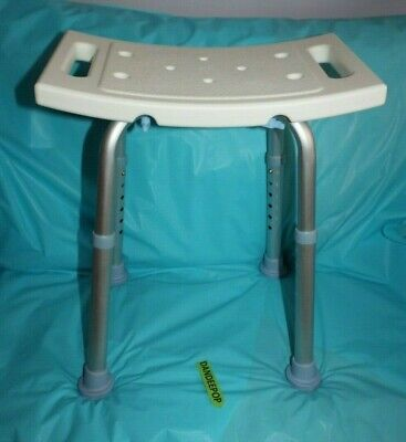 Oasis Space Adjustable Portable Shower Safety Medical Disability Seat Stool