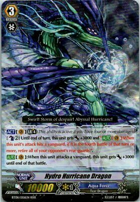 BT08//003EN Sephirot Vanguard Arboros Dragon 1x Cardfight! RRR Near Mint