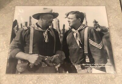"ESTATE SALE FIND - John Wayne Print 10"" x 8"" - photo 3 of 11"