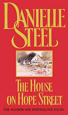 The House on Hope Street by Danielle Steel, Paperback Used Book, Very Good, FREE