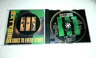 CD Extreme - III Sides To Every Story 1992  A&M Records CD 50006