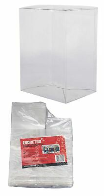 "20 Funko Pop 4"" Protectors (Clear Plastic) 