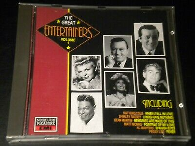 The Great Entertainers: Vol.1 - Various Artists - 22 Tracks - CD Album - 1989