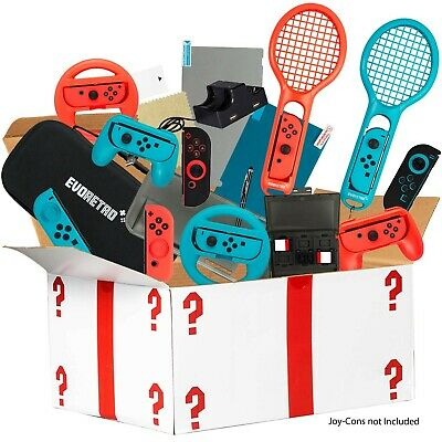 Ultimate Accessories Bundle for Nintendo Switch - 21 in 1 Essential Kit include