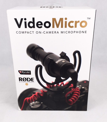 Rode VideoMicro Compact On-Camera Microphone Assorted Colors