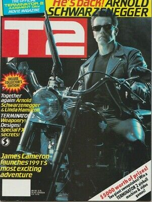 T2 Terminator 2 Judgment Day - Official Movie Magazine - 1991