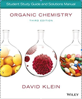 PDF-Organic Chemistry Student Solution Manual-Third Edition-David Klein