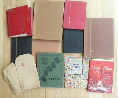 Substantial old stamp collection - multi albums  ##REC69BS