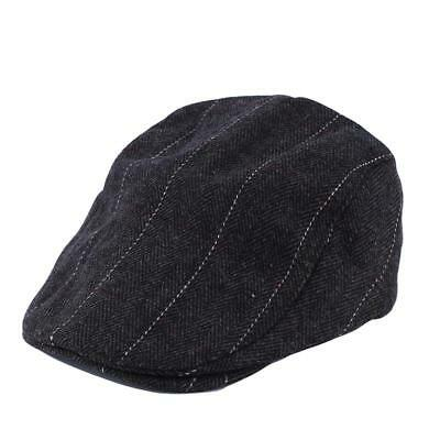 Men Visor Blending Newsboy Beret Caps Outdoor Casual Winter Flat Cap LA