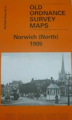 Old Ordnance Survey Maps Norwich North  Norfolk 1905 Godfrey Edition