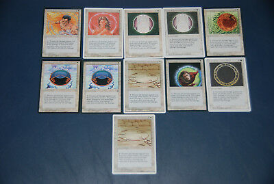 Magic the Gathering - Circle of Protection Set 11x - Revised 4th Edition Ice Age