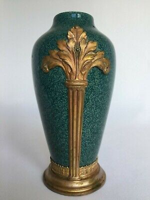 Vase Sevres Monte Bronze Monogramme Mp Milet Paul  Xix Eme Decor Louis Xvi H36