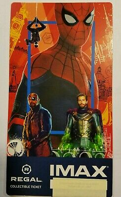 Spider-Man Far from Home Regal IMAX Collectible Ticket week 1 (2019) movie