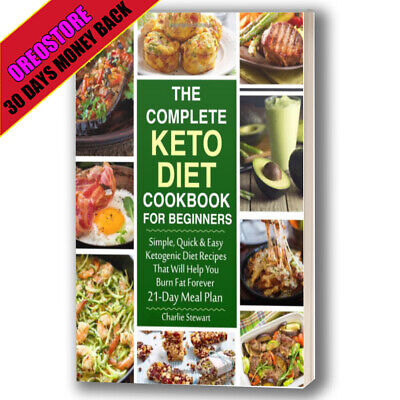 Complete Guide Keto Diet Cookbook Beginners Ketogenic Diets Recipes Meal Book