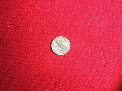 1916 GB KGV Threepence 3d .925 Silver Coin