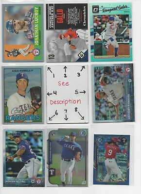 Texas Rangers #2 - AUTOS - ROOKIES - JERSEY - SERIAL #'d - * SEE ALL OUR LOTS sp