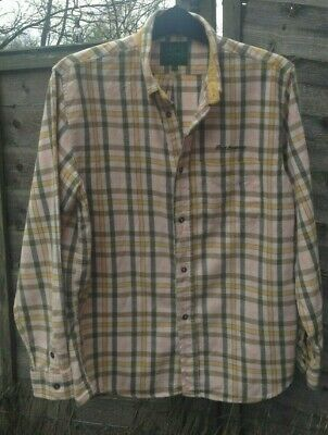 80s CASUAL SHIRT - BEST COMPANY - SIZE LARGE (LABEL SAYS XL/CHECK MEASUREMENTS)