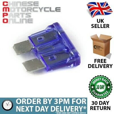 15 Amp Blue Blade Fuse for Lexmoto (FUSE006)