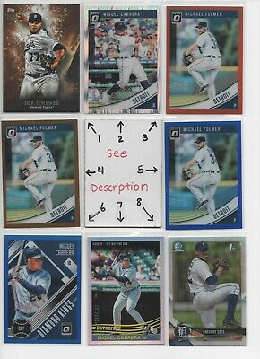 Detroit Tigers ** SERIAL #'d Rookies Autos Jerseys ** ALL CARDS ARE GOOD CARDS*