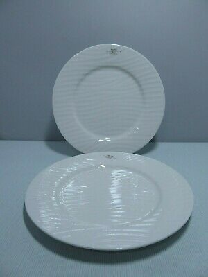 "Sophie Conran For Portmeirion Pair of White Oak Dinner Plates 11"" - Many avail"