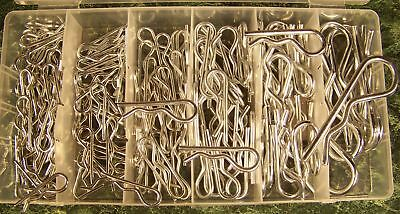 150pc HAIR PIN ASSORTMENT New Cotter with case