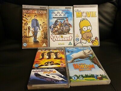 Bundle Of 5 Psp Films Umd