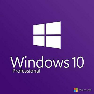 Microsoft Windows 10 Pro versione completa | 32 & 64 bit DVD