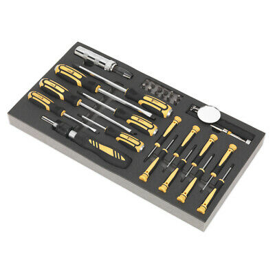 Genuine SEALEY S01128 | Tool Tray with Screwdriver Set 36pc