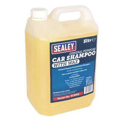 Genuine SEALEY SCS005 | Car Shampoo 5ltr