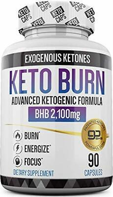 Keto Pills - 3X Dose (2100mg | 90 Capsules) Advanced Keto Burn Diet Pills