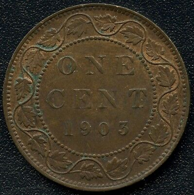 1903 Canada Large Cent Coin