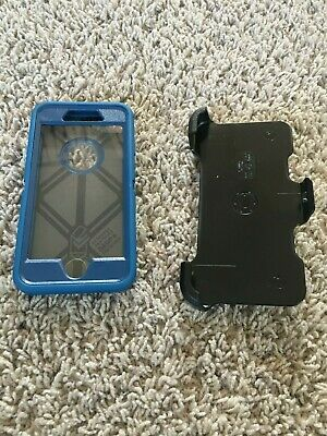 OtterBox Defender and Clip for iPhone 7/8 Limited Edition Ocean Blue!! Brand New