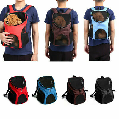 NEW Outdoor Pet Carry Backpack Puppy Dog Carrying Bag Travel Carrier Pouch AU