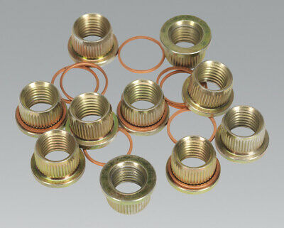Sealey Replacement Thread Inserts M12 x 1.5mm for VS0463 Pack of 10
