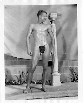 AMG Vintage Single Weight  Male Nude 4x5  Flat Collection