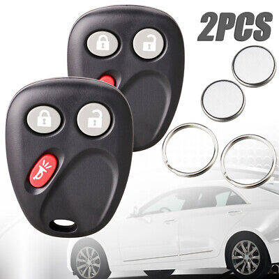 2PCS Keyless Entry Remote Key Fob LHJ011 for Tahoe Silverado Yukon Sierra