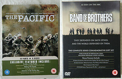 Band Of Brothers & The Pacific Dvd Colection Complete HBO Series