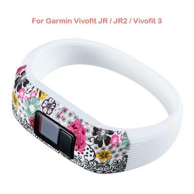 Silicone Printed Wrist Band Strap for Garmin Vivofit JR/JR2/Vivofit 3 S
