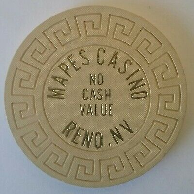 Mapes Casino No Cash Value Casino Chip   Reno,   Nv