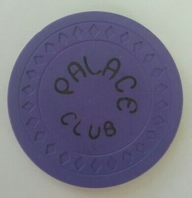 Palace  Club Casino Chip