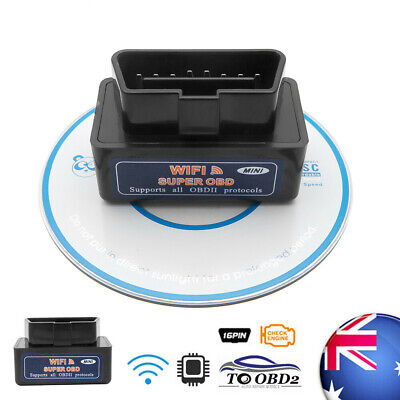 WiFi OBD2 ELM327 Bluetooth Car Scanner For Android iPhone Torque Auto Scan Tool