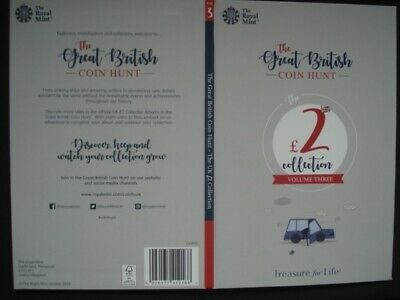 Royal Mint The Great British Coin Hunt £2 Volume 3 Collector Album Folder NEW.