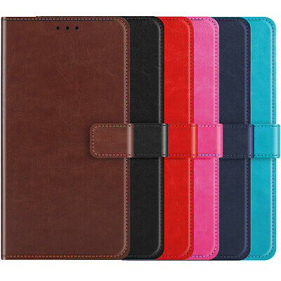 Flip Leather Phone Case Wallet TPU GEL Silicone Skin Cover Shell For OPPO