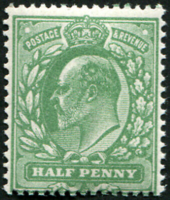 ½d SG 279a 'Deep Dull-Green' U/M, well centred, pristine fresh. (Spec.M4/2) Wit