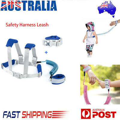 Kids Baby Harness Reflective Anti-Lost Wrist Child Safety Strap Waist Leash